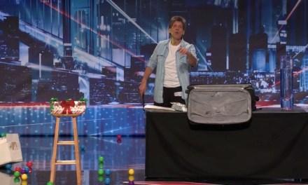 Al Harris, prop comic, auditions on America's Got Talent 2013