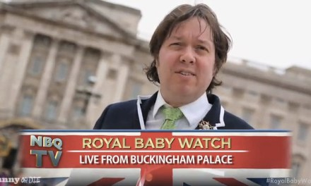Dave Hill is on Royal Baby Watch for Funny or Die and the birth of Kate Middleton's baby