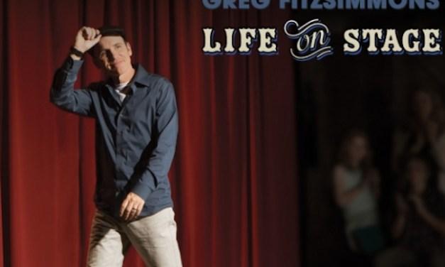 "Greg Fitzsimmons, ""Life On Stage,"" CD/DVD"