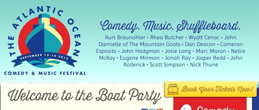 Maximum Fun on the high seas: The Atlantic Ocean Comedy & Music Festival