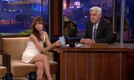 Natasha Leggero roasts Jay Leno on The Tonight Show