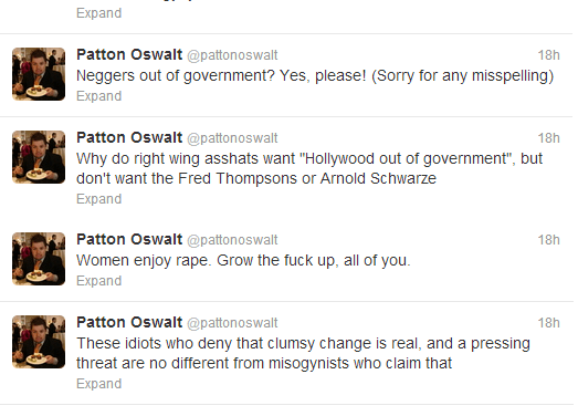 Patton Oswalt's Social Media Experience Experiment