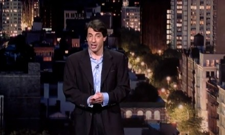 Dan Naturman's killer fourth appearance on Late Show with David Letterman