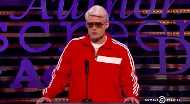 "Bill Hader as ""The President of Hollywood"" and other great NSFW moments from the Comedy Central #FrancoRoast"