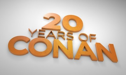 Team Coco celebrates 20 Years of Conan #Conan20