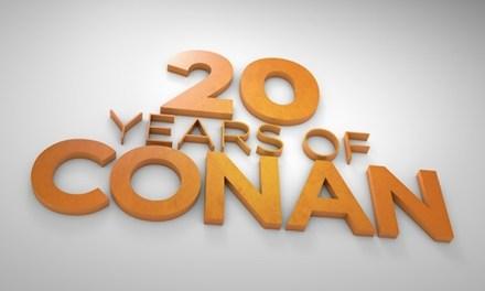 Team Coco celebrates 20 Years of Conan #Conan20