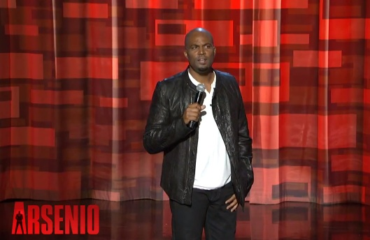 Chris Spencer on The Arsenio Hall Show