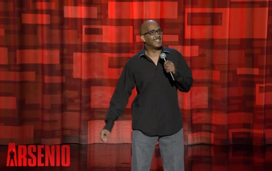 John Henton on The Arsenio Hall Show