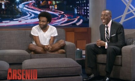 "As ""Childish Gambino,"" Donald Glover performs on Arsenio, explains his current thoughts and goals"