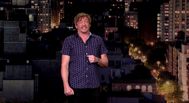 Rhys Darby on Late Show with David Letterman