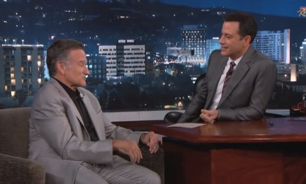 Robin Williams tells Jimmy Kimmel why he still performs improv