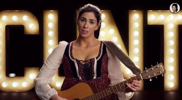 "Sarah Silverman's music video: ""Diva"""
