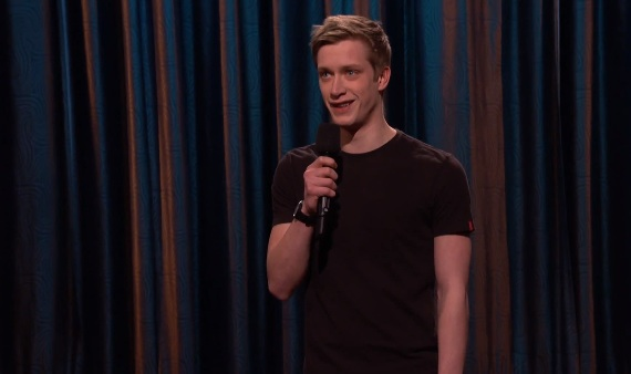 Daniel Sloss's U.S. TV debut on Conan
