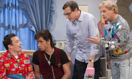 """Full House"" guys reunite for cold opening sketch on Late Night with Jimmy Fallon"