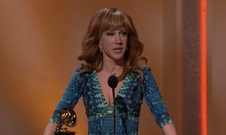 Kathy Griffin wins Best Comedy Album; Stephen Colbert, Steve Martin also win Grammys