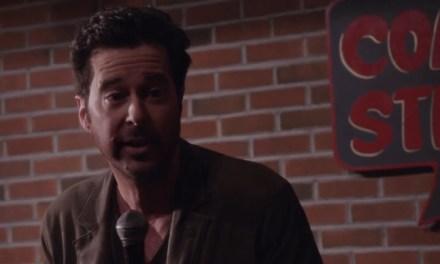 Jonathan Silverman as Josh Galloway, rape-joke comedian rapist(?), on Law & Order: SVU
