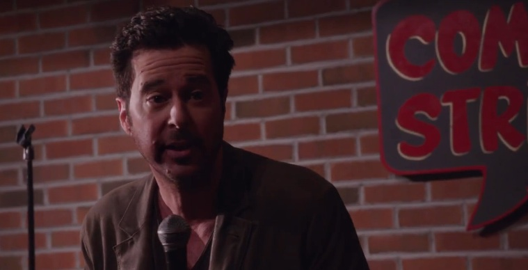 Jonathan Silverman as Josh Galloway, rape-joke comedian rapist(?), on Law & Order: SVU