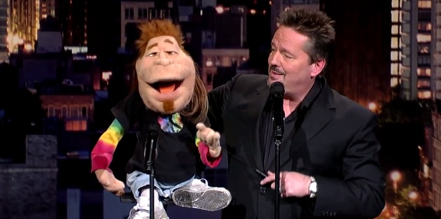Terry Fator on Late Show with David Letterman