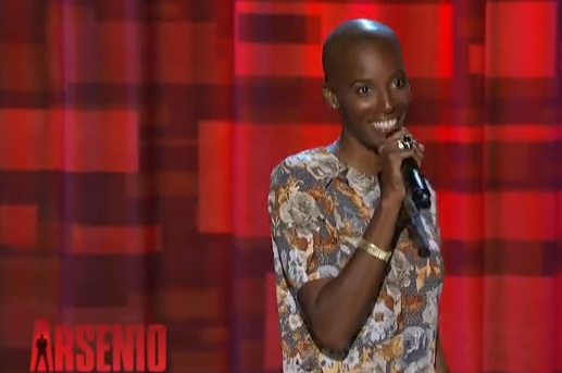 Zainab Johnson's debut on The Arsenio Hall Show