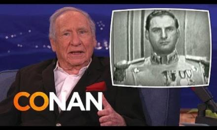 Mel Brooks remembers Sid Caesar, in this tribute with Conan O'Brien