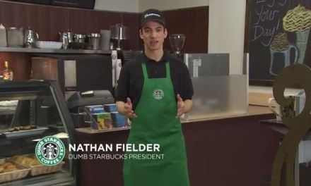 Nathan Fielder's Dumb Starbucks draws a crowd