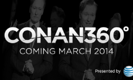 See Conan O'Brien and Team Coco from all the angles via CONAN360