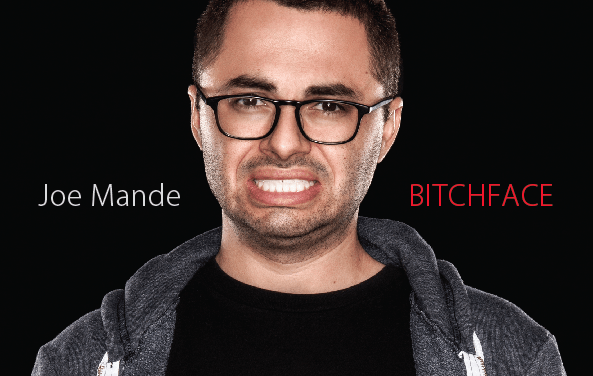 "Joe Mande shows us his ""BITCHFACE"" in a comedy mixtape"