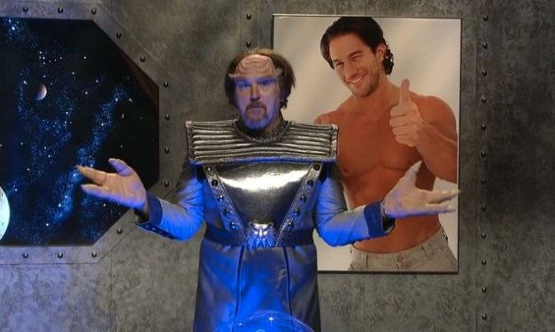 "Online only: Louis C.K.'s SNL ""Space Encounter"""