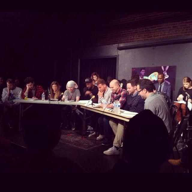 """Space Jam"" table read with Blake Griffin, DeAndre Jordan and comedians at the UCB Theatre in Los Angeles"