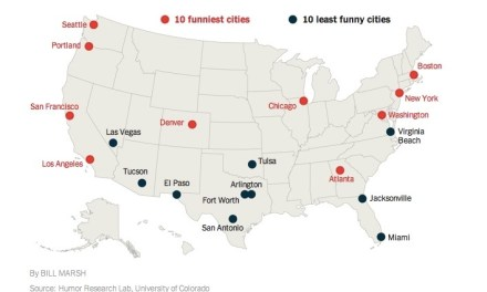 Decoding the Funniest Cities in America