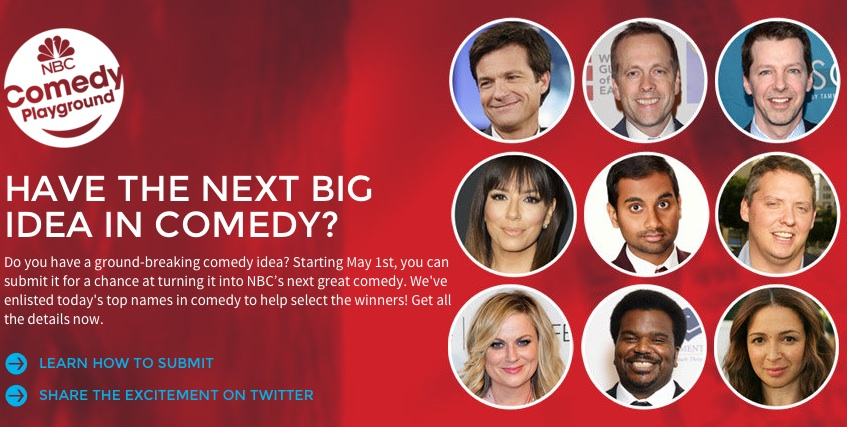 NBC invites your ideas to its Comedy Playground, to put favorites on air in 2015