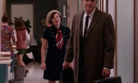 """Allan Havey as Lou Avery rises to the challenge in the final season of AMC's """"Mad Men"""""""