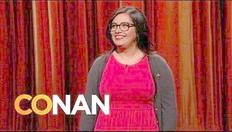 How about them Cowboys? Cristela Alonzo on Conan