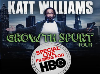 "Spike Lee directing Katt Williams 2014 ""Growth Spurt"" HBO special"