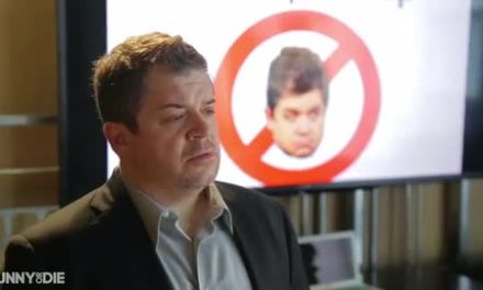 Patton Oswalt confronts his online haters, in advance of hosting the 2014 Webbys