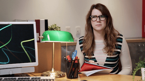 """Sara Schaefer relives every comedian's early nightmares and daydreams in """"Day Job"""""""
