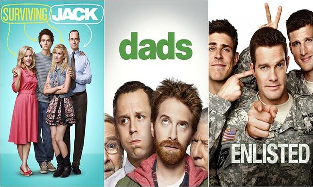 FOX cancels Dads, Enlisted, Surviving Jack; passes on three sitcom pilots