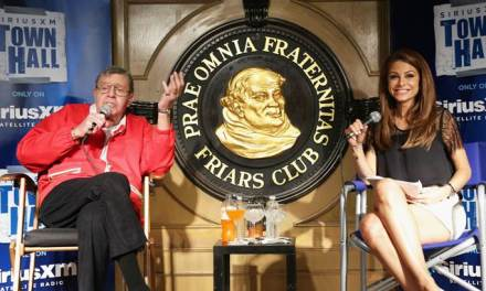 That time Jerry Lewis wished Joan Rivers were dead, speaking on a SiriusXM Town Hall at the Friars Club