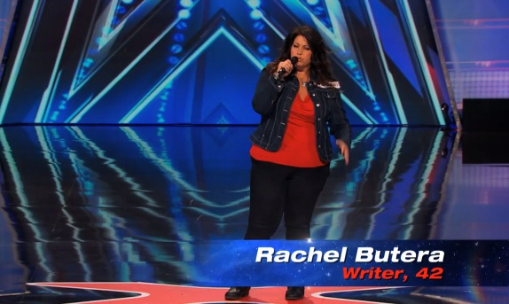 Rachel Butera's audition for America's Got Talent 2014