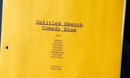 Can you judge an NBC Untitled Sketch Comedy Show by its pilot cover page?