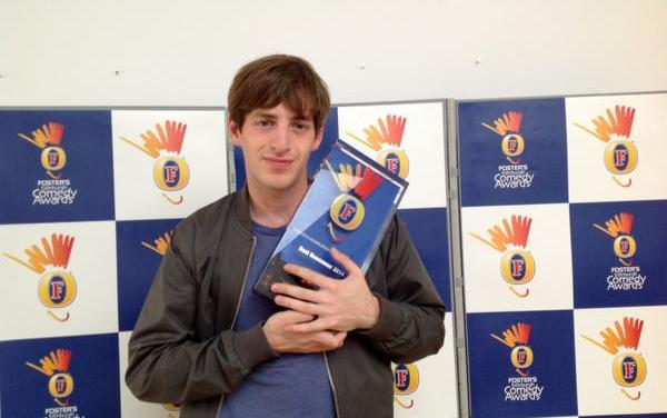 In his own words: Alex Edelman on winning Best Newcomer at Edinburgh Fringe 2014, and advice for his fellow American comedians