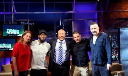 Comics Unleashed with Byron Allen taped new episodes for Fall 2014!