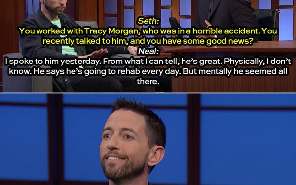 Neal Brennan publicly updates us on Tracy Morgan's recovery