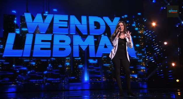 Wendy Liebman's semifinal performance on America's Got Talent 2014