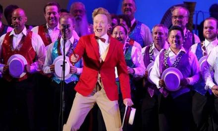 Conan O'Brien, Weird Al Yankovic, Jon Lovitz joined the cast of The Simpsons, live at Hollywood Bowl
