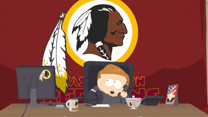 South Park opens 18th season by mocking the Washington Redskins