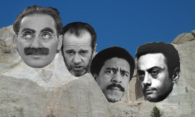 Who would make it onto the Mount Rushmore of Comedy?