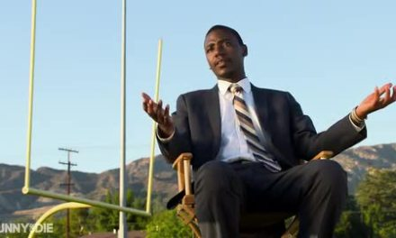 Jerrod Carmichael sponsors a PeeWee Football team to promote his HBO special