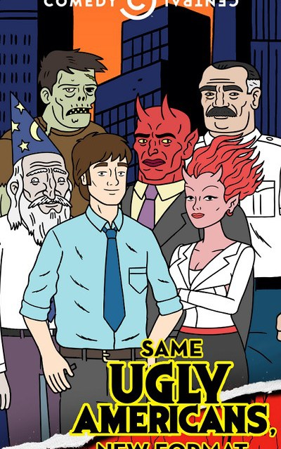 Comedy Central resurrects Ugly Americans with new app, mobile episodes
