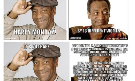The night Bill Cosby learned No Memes No #CosbyMeme